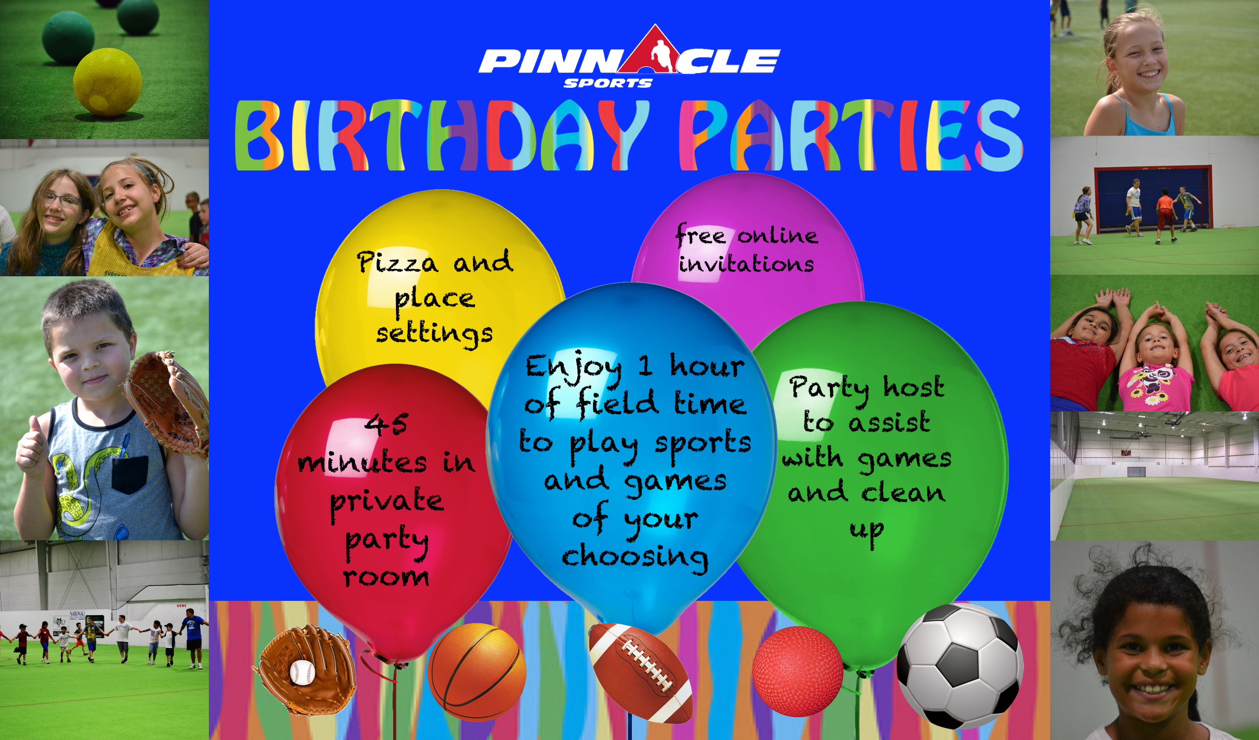 birthday parties new