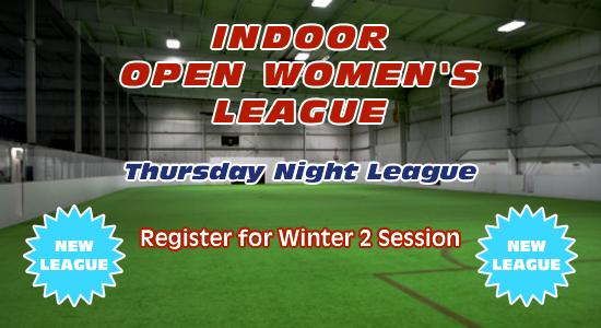 Open Women's Indoor Soccer League