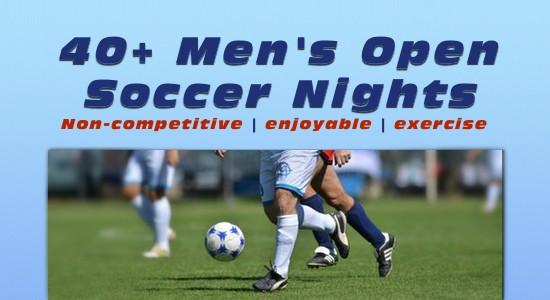 40+ Men's Open Soccer Nights