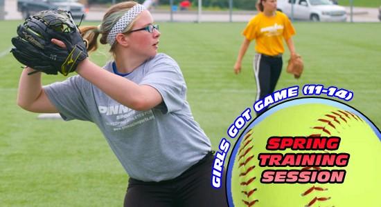 Spring Training Girls Got Game (11-14)
