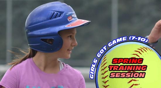 Spring Training Girls Got Game (7-10)