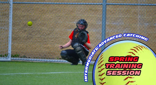 Spring Training Intermediate/Advanced Catching
