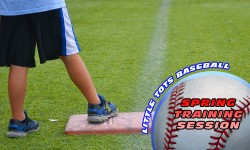 Spring Training Little Tots Baseball