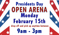 Open Arena: Monday February 15th