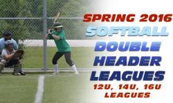 Spring Softball Double Header Leagues