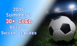 2016 Summer 1 30+ CoEd Soccer League