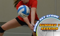 Summer 1 Volleyball Bump Set Score