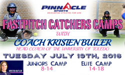 Fastpitch Catchers Camps With Kristen Butler