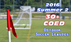 Summer 2 30+ CoEd Soccer Leagues