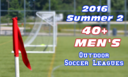 Summer 2 40+ Men's Soccer Leagues