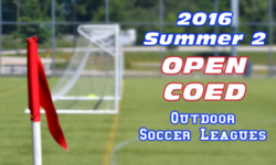 Summer 2 Open CoEd Soccer Leagues