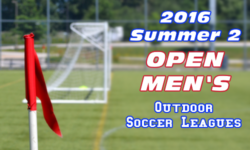 Summer 2 Open Men's Soccer Leagues