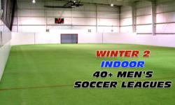 Winter 2 40+ Men's Indoor Soccer League