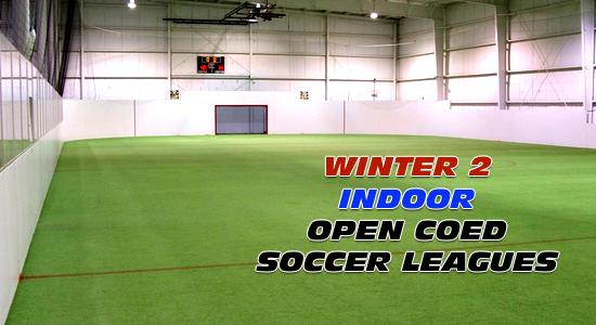 Winter 2 Open CoEd Indoor Soccer Leagues