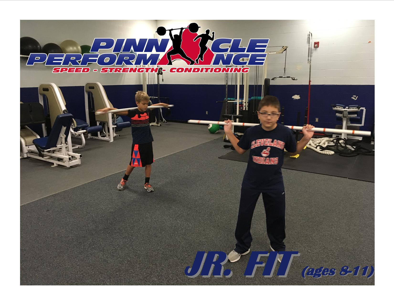 youth fitness, fitness training, strength training, pinnacle performance, pinnacle sports, medina, ohio
