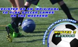 Winter 2 Weekend Game Play package