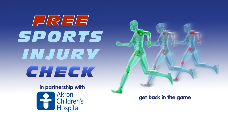 free sports injury check pinnacle sports